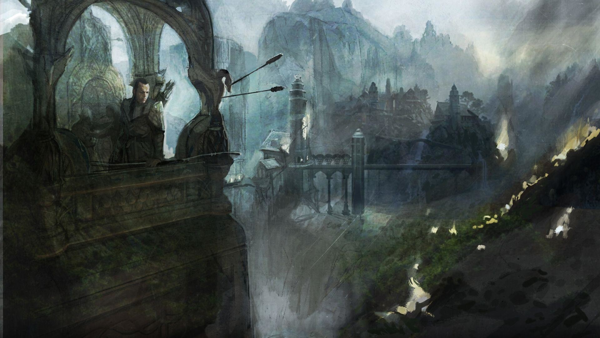 Mellonnen! Mo evínedh? … and new Sindarin in The Hobbit