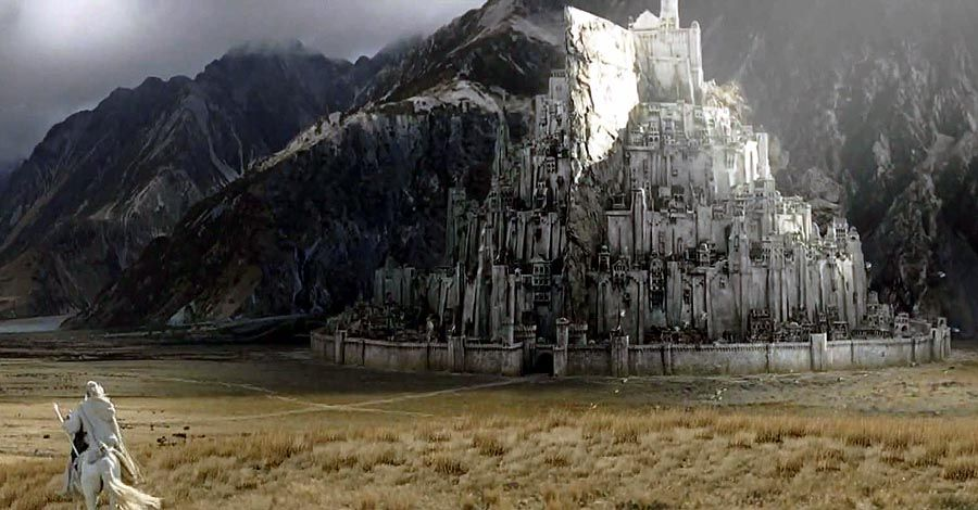Architects want to build a real Minas Tirith
