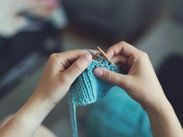 Knit Sew Girl Female Make Craft Create Homemake