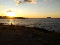 Dawn Persuade Sunset Light Shadow Coast Beautiful