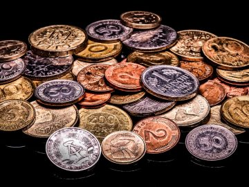 Money Coins Currency Metal Old Historically Pay